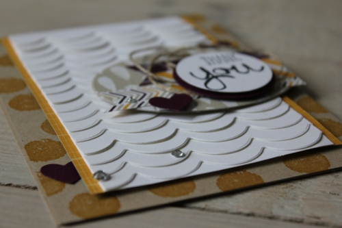 Restekarte, Bild3, gebastelt mit Produkten von Stampin\' Up!