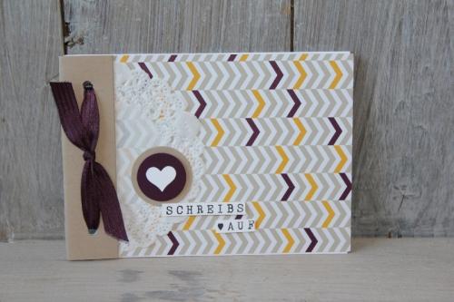 Minialbum Mondschein, Bild2, gebastelt mit Produkten von Stampin\' Up!