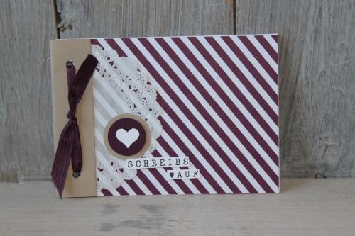 Minialbum Mondschein, Bild3, gebastelt mit Produkten von Stampin\' Up!