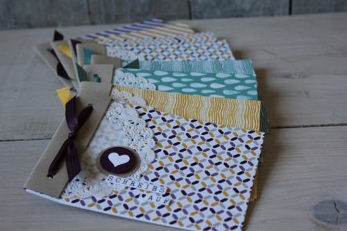 Minialbum Mondschein, Bild1, gebastelt mit Produkten von Stampin\' Up!