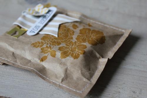 Packpapiertüten, Bild2, gebastelt mit Produkten von Stampin\' Up!