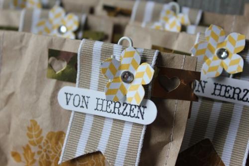 Packpapiertüten, Bild3, gebastelt mit Produkten von Stampin\' Up!