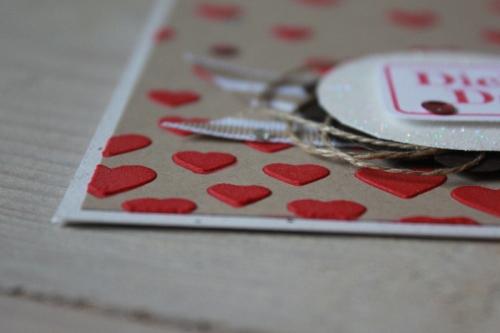 Herzige Dankeskarte, Bild3, gebastelt mit Materialien von Stampin\' Up!