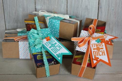Mitmachaktion Freude schenken, Bild1, gebastelt mit Produkten von Stampin\' Up!