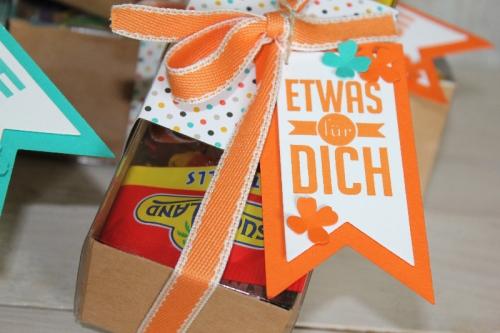 Mitmachaktion Freude schenken, Bild2, gebastelt mit Produkten von Stampin\' Up!