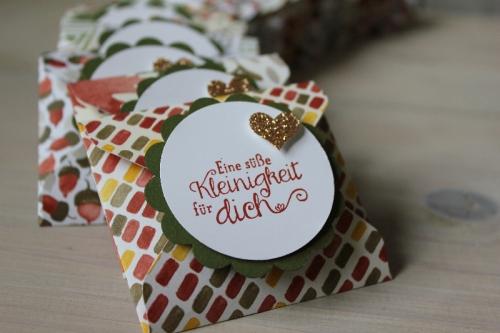 Punchboard Verpackung im Herbstlook, Bild2, gebastelt mit Produkten von Stampin\' Up!