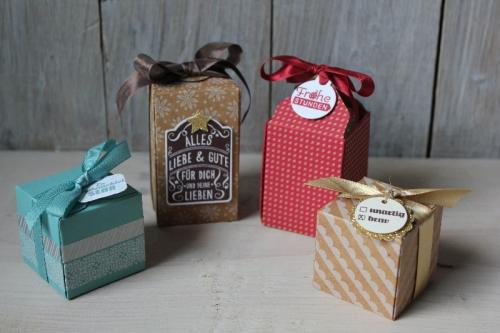 Geschenkschachteln, Bild1, gebastelt mit Produkten von Stampin\' Up!