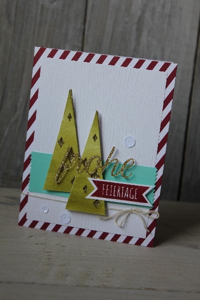 Kartenset Malerischer Winter, Bild1, gebastelt mit Produkten von Stampin\' Up!