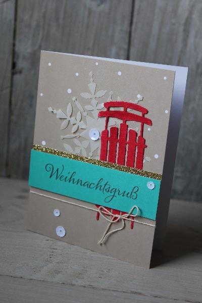 Kartenset Malerischer Winter, Bild6, gebastelt mit Produkten von Stampin\' Up!