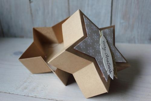 Sternenschachte, Bild3, gebastelt mit Produkten von Stampin\' Up!