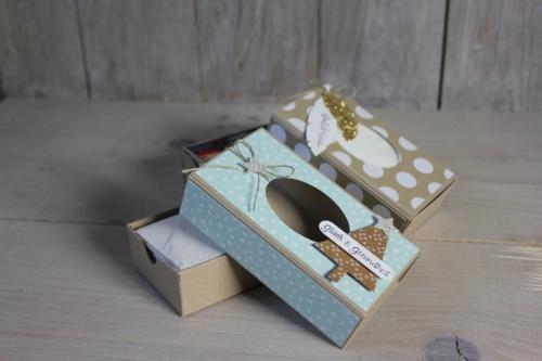 Taschentücherbox, Bild1, gebastelt mit Produkten von Stampin\' Up!