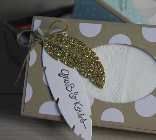 Taschentücherbox, Bild2, gebastelt mit Produkten von Stampin\' Up!