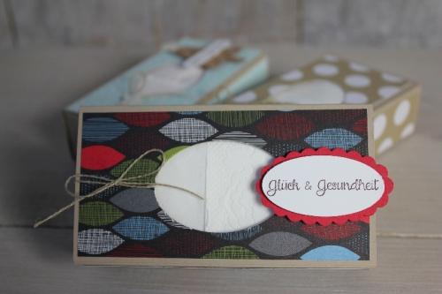 Taschentücherbox, Bild3, gebastelt mit Produkten von Stampin\' Up!