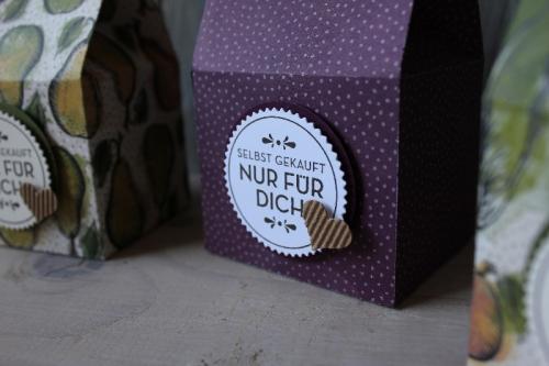 Leckereien-Box, Bild4, gebastelt mit Produkten von Stampin\' Up!