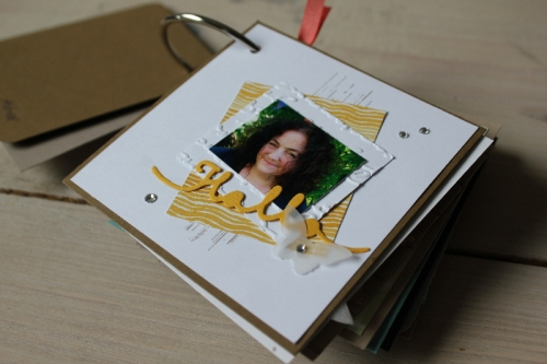Minialbum Teamtreffen, Bild3, gebastelt mit Produkten von Stampin\' Up!