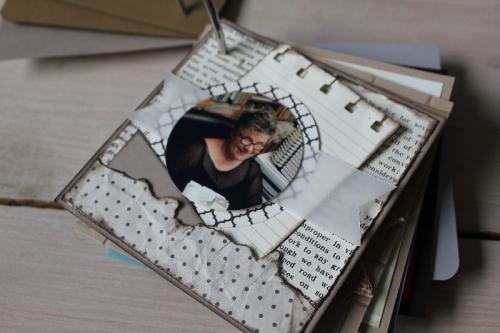 Minialbum Teamtreffen, Bild5, gebastelt mit Produkten von Stampin\' Up!