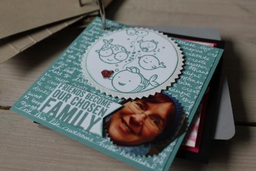 Minialbum Teamtreffen, Bild8, gebastelt mit Produkten von Stampin\' Up!