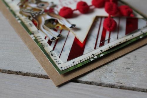 Weihnachtskarte Heimelige Weihnachten, Bild2, gebastelt mit Produkten von Stampin\' Up!