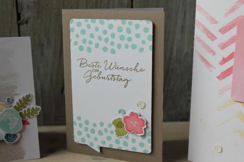 Kartenset Malerische Grüße, Bild3, gebastelt mit Produkten von Stampin\' Up!