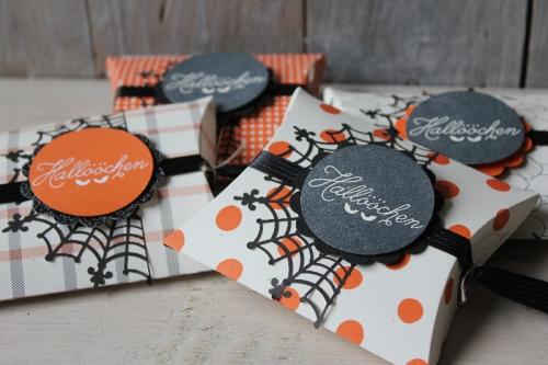 Pillowbox Halloween, Bild1, gebastelt mit Produkten von Stampin\' Up!