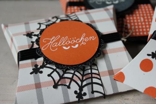 Pillowbox Halloween, Bild2, gebastelt mit Produkten von Stampin\' Up!