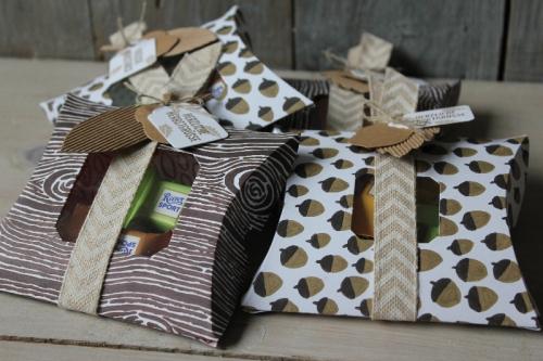 Pillowbox Herbst, Bild1, gebastelt mit Produkten von Stampin\' Up!