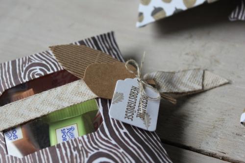 Pillowbox Herbst, Bild2, gebastelt mit Produkten von Stampin\' Up!