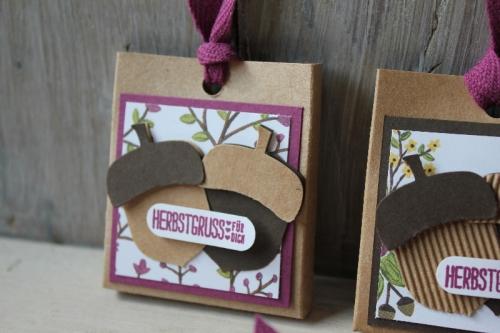 Rittersport Verpackung Eichel, Bild2, gebastelt mit Produkten von Stampin\' Up!