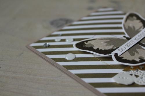 Schmetterlingskarte DU bist Klasse, Bild3, gebastelt mit Produkten von Stampin\' Up!