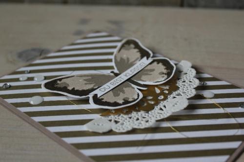 Schmetterlingskarte DU bist Klasse, Bild2, gebastelt mit Produkten von Stampin\' Up!