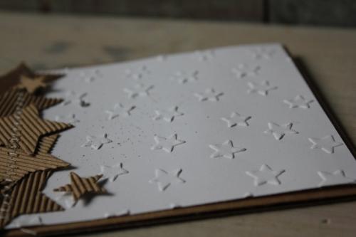 Weihnachtskarte Sterne, Bild3, gebastelt mit Produkten von Stampin\' Up!