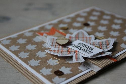 Herbstkarte Project Life, Bild3, gebastelt mit Produkten von Stampin\' Up!