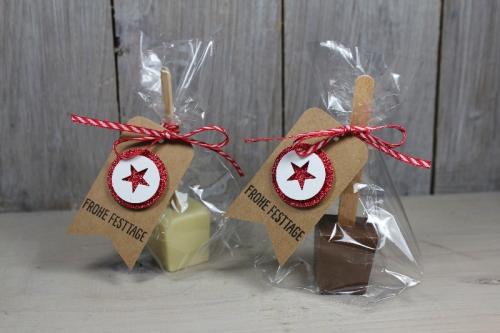 Trinkschokolade am Stil verpackt, Bild1, gebastelt mit Produkten von Stampin\' Up!