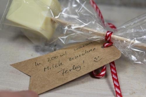 Trinkschokolade am Stil verpackt, Bild3, gebastelt mit Produkten von Stampin\' Up!