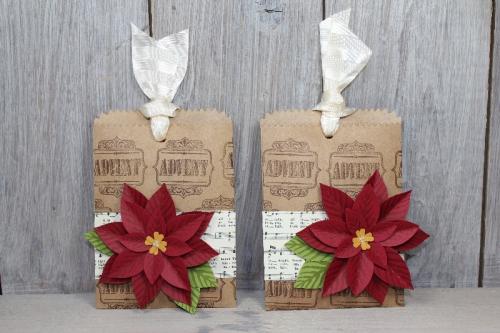 Geschenktüten mit Weihnachtsstern, Bild1, gebastelt mit Produkten von Stampin\' Up!