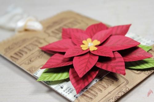 Geschenktüten mit Weihnachtsstern, Bild2, gebastelt mit Produkten von Stampin\' Up!
