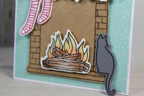Nikolauskarte, Bild2, gebastelt mit Produkten von Stampin\' Up!