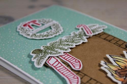 Nikolauskarte, Bild3, gebastelt mit Produkten von Stampin\' Up!