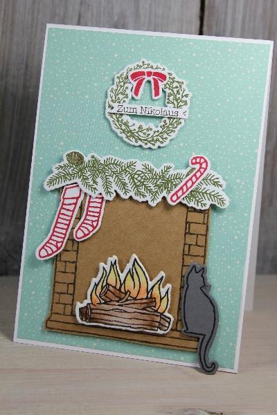 Nikolauskarte, Bild1, gebastelt mit Produkten von Stampin\' Up!