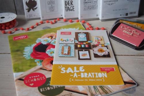 Stampin UP Frühlingskatalog und SAB Flyer 2015, Bild1, gebastelt mit Produkten von Stampin\' Up!