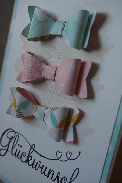 Schleifenkarte, Bild2, gebastelt mit Produkten von Stampin\' Up!