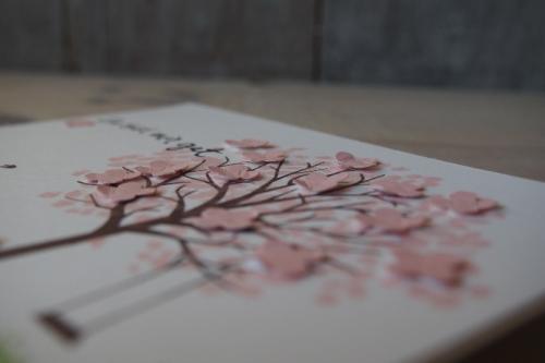 Grußkarte Baum der Freunfschaft, Bild 3, gebastelt mit Produkten von Stampin\' Up!