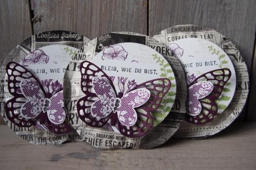 Verpackung Kekse, Bild1, gebastelt mit Produkten von Stampin\' Up!