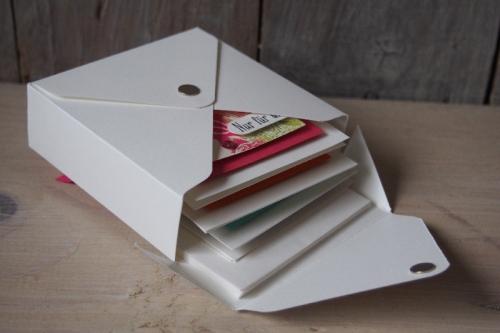 Geschenkbox für Minikarten, Bild2, gebastelt mit Produkten von Stampin\' Up!