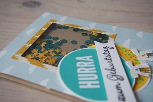 Schüttelkarte/Ballons, Bild3, gebastelt mit Produkten von Stampin\' Up!