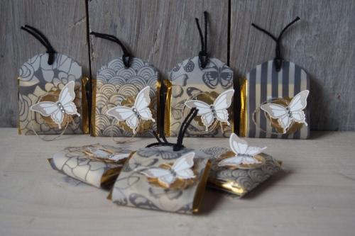 Ritter Sport Verpackung/pure perfektion, Bild1, gebastelt mit Produkten von Stampin\' Up!