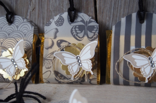 Ritter Sport Verpackung/pure perfektion, Bild2, gebastelt mit Produkten von Stampin\' Up!