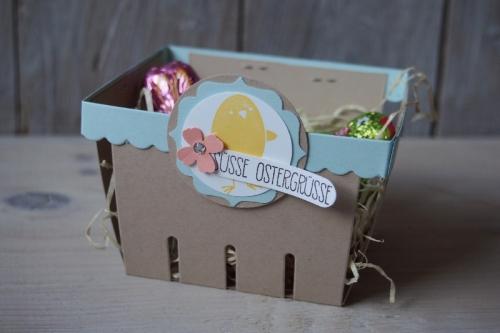 Osterkörbchen, Bild1, gebastelt mit Produkten von Stampin\' Up!