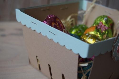 Osterkörbchen, Bild3, gebastelt mit Produkten von Stampin\' Up!