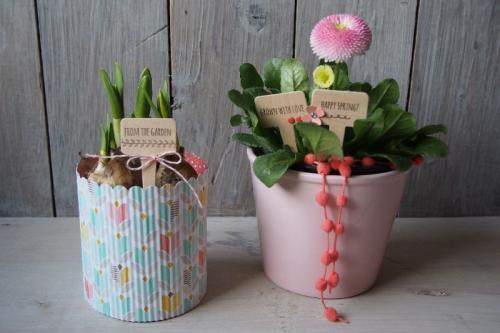Blumenstecker/Aus meinem Garten, Bild1, gebastelt mit Produkten von Stampin\' Up!